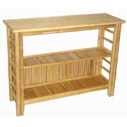 Bamboo54 Fancy Console Table with Shelf
