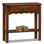 Leick Favorite Finds Wave Console Table; Medium Oak