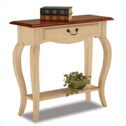 Leick Favorite Finds Console Table; Ivory