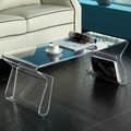 Modway Magazine Coffee Table; Clear