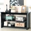 Hokku Designs Waldon Open Shelf Console Table; Black