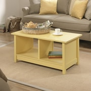 Sauder Original Cottage Coffee Table; Mellow Yellow