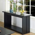 Somerton Dwelling Ebony Console Table
