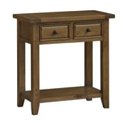Hillsdale Tuscan Retreat Console Table; Antique Pine