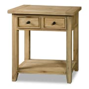 Hillsdale Tuscan Retreat Console Table; Weathered Pine