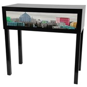 Oriental Furniture Colorful New York Console Table