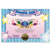 """Beistle 5"""" x 7"""" 1 Year Old Boy Certificate, 6/Pack"""