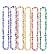 Beistle 36in. in.21stin. Birthday Beads Of Expression, Assorted, 12/Pack