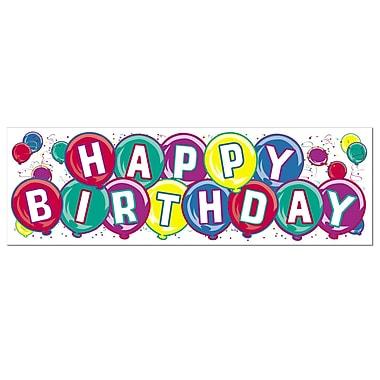 Happy Birthday Sign Banner, 5' 3