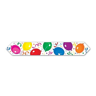 Printed Party Balloons Blue Table Runner, 11