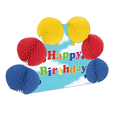 Happy Birthday Pop-Over Centrepiece, 10