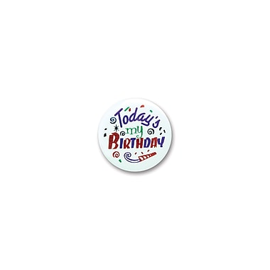 Today's My Birthday Satin Button, 2