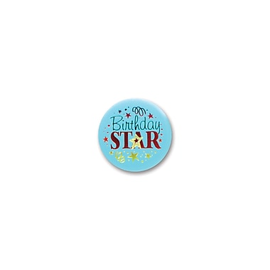 Birthday Star Satin Button, 2