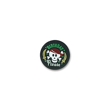 Birthday Pirate Satin Button, 2