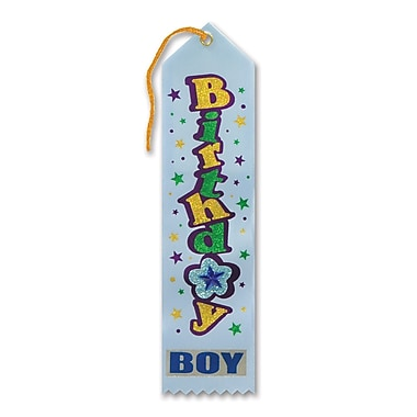 Blue Birthday Boy Jeweled Ribbon, 2