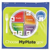 Learning Resources® Healthy Helpings™ MyPlate Pocket Chart, Grade K+