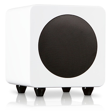 Kanto SUB6GW Powered Subwoofer, Gloss White
