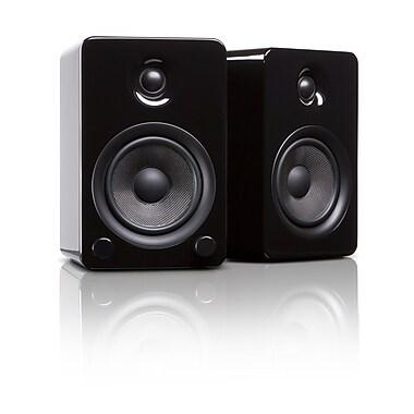 Kanto YU5GB Powered Bookshelf Speakers with Bluetooth™ Technology, Gloss Black