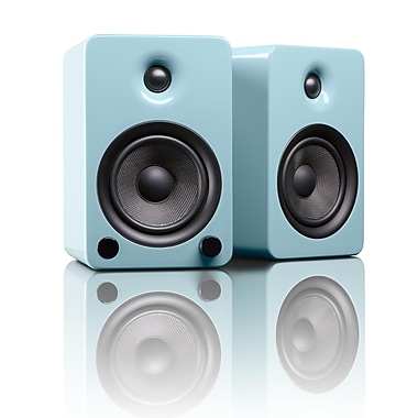 Kanto YU5GT Powered Bookshelf Speakers with Bluetooth™ Technology, Gloss Teal