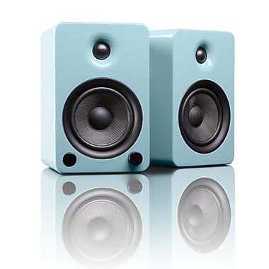 Kanto YU5GT Powered Bookshelf Speakers with Bluetooth™ Technology, Gloss Teal