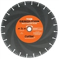 Cutter Diamond 12'' - 14'' Demolition Specialty Diamond Blade; 12'' x .125'' x 1/20mm