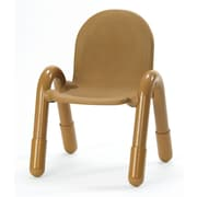 Angeles Baseline 11'' PVC Classroom Chair; CarmelBrown