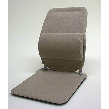 Sacro-Ease Seat Back Cushion with Adjustable Lumbar Support; Charcoal