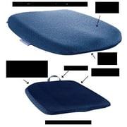 Sacro-Ease Memory Foam Cushion; Blue