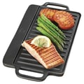 Universal Housewares Pre-Seasoned 12.75'' Reversible Grill Pan and Griddle