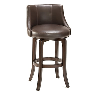 Hillsdale Swivel 29.75'' Bar Stool with Cushion