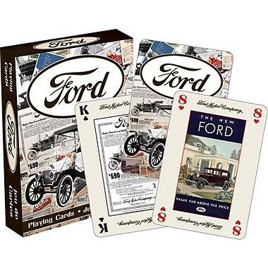 NMR Ford Heritage Playing Cards