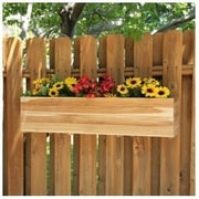 Diamond Teak Teak Window Box Planter; 11.5'' x 10.5'' x 24''