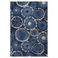 KAS Oriental Rugs Allure Starburst Blue Area Rug; 6'7'' x 9'6''