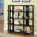 InRoom Designs 42'' Bookcase; Espresso/Espresso