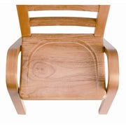 Angeles 13'' Wood Classroom Stacking Chair