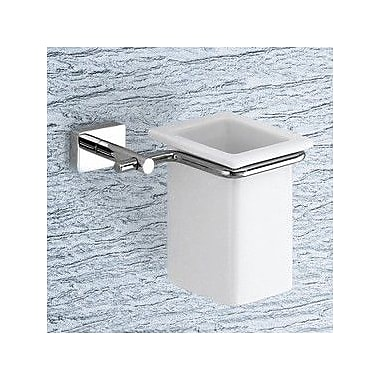 Gedy by Nameeks Minnesota Toothbrush Holder; Chrome