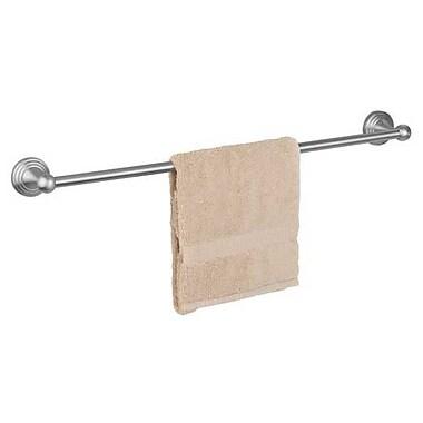 Dynasty Hardware Naples Single 18'' Wall Mounted Towel Bar; Satin Nickel