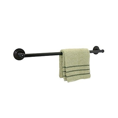 Dynasty Hardware Newport Single 24'' Wall Mounted Towel Bar; Oil Rubbed Bronze