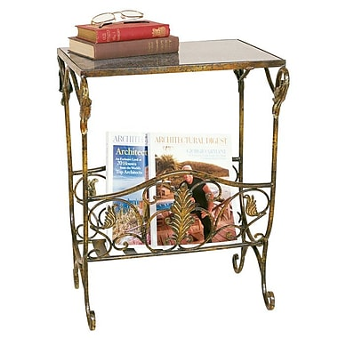 Passport Magazine Table with Rack