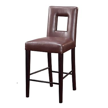 Global Furniture USA Jordan Bar Stool ; Brown