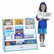Jonti-Craft One Sided Flushback Pick-A-Book Stand; Navy