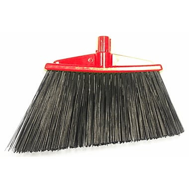 SYR Angle Broom Bristles; Red