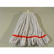 SYR Changer Polystrip Mop; White with Red Band