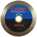 Cutter Diamond 4'' - 14'' Premium Wet Tile Diamond Blade; 10'' x .070 x 5/8''-7/8