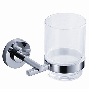 Fresca Alzato Tumbler and Tumbler Holder