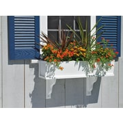 Good Directions Lazy Hill Farm Rectangular Plastic Window Box Planter; 36''