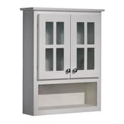 Coastal Collection Cape Cod Series 25.5'' x 30.75'' Wall Mounted Cabinet