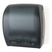 Palmer Fixture Mechanical Auto Cut Roll Towel Dispenser; Dark Translucent