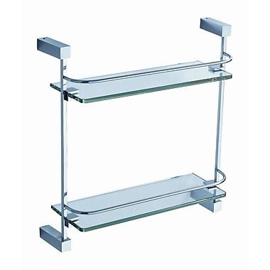 Fresca Ottimo 15'' W Bathroom Shelf; Chrome
