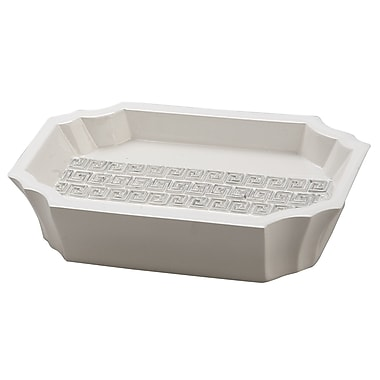 Jovi Home Greek Key Soap Dish